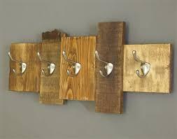 Cabin Coat Rack Impressive Wooden Coat Rack Reclaimed Wood Cabin Decor Wall Mounted Cabin