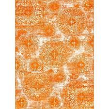 orange white area rug and striped rugby shirt khtmlrefidpinto49