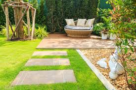 landscaped garden ideas for a small