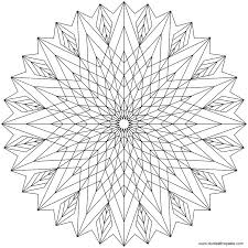 Small Picture Printable 32 Cool Geometric Design Coloring Pages 7770 Coloring