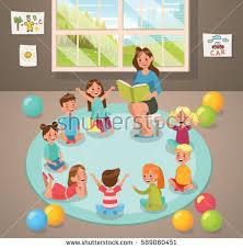 classroom rug clipart. in classroom teacher and children\u0027s activity the kindergarten. vector design. rug clipart