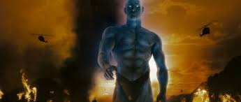 """droid takes one for the team and watches the watchmen ultimate there is such a thing as too faithful and after """"300"""" and """"watchmen"""" director zack snyder has proven that he is about as imaginative as rain man"""