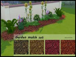 garden mulch.  Garden In Garden Mulch I