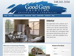 websites for painters mi