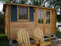 Small Picture Solid Build designs and sells outdoor wood kit sheds and small