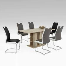 Esstisch Mit Stühlen Keviz In Eiche San Remo Pharao24de
