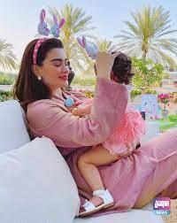 أحدث ظهور لـ روان بن حسين مع إبنتها عبر حسابها على إنستغرام – وكالة الاولى  نيوز