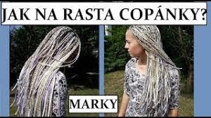 účesy S Rasta Copánky