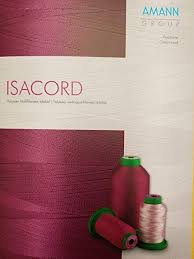 Isacord Thread Chart With Color Names Isacord Real Thread Color Swatch Chart