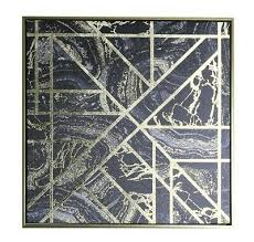black gold geometric metallic foil