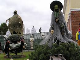 Witch Decorating Witches Warlocks Halloween Lawn Decorations