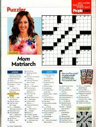 Crossword People \u0026 Spanish 1 - Two Crossword Puzzles For ...