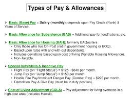 Army Pay Chart Bas Army Pay Allowances How Much Will You Make Ppt Video
