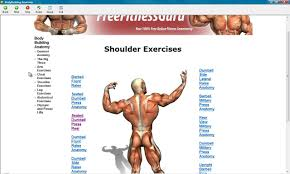 Printable Dumbbell Workout Online Charts Collection