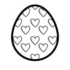 egg clipart black and white. Easter Egg Clipart Group 57 Jpg Freeuse Download With Black And White