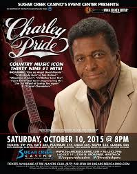 sugar creek charley pride poster