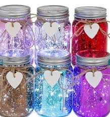 Decorate Jam Jars sparkle led jam jar light by thelittleboysroom 48