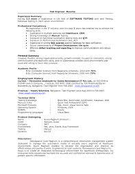 Microsoft Test Engineer Sample Resume 3 Software Tester Samples