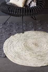 original moroccan round hand woven jute rug tap to expand