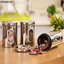 fullsize of fantastic inspiration glass retro glass storage jars vintage style kitchen dma homes stainless steel