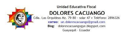Hojas Membretadas Para Descargar Unidad Educativa Fiscal Dolores Cacuango Guayaquil