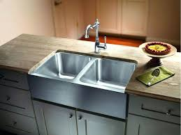 stainless steel kitchen sink reviews white cabinets double basin detail elkay granite undermount sinks ada compliant