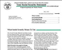 SSA Statement 300x240