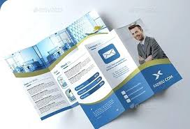 Printable S Free Word On Brochure Templates Fold Template Tri