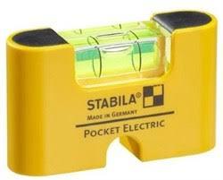 Магнитный <b>уровень Stabila Pocket Electric</b> 18515 (17775) купить в ...