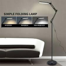 black metal led desk lamp light with