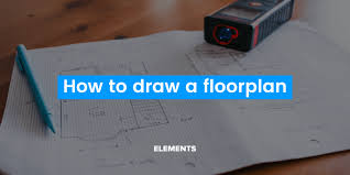 how to draw a floor plan using a pencil