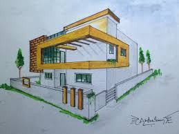 perspective drawings of buildings. Perspective Drawings Of Buildings N