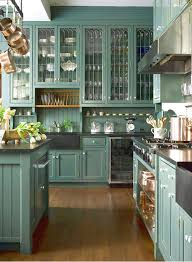 Green Kitchen Cabinet Doors Green Kitchen Cabinets In Appealing Design For Modern Kitchen