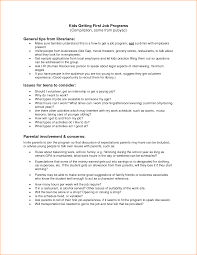 Mesmerizing Resume Teenager First Job Sample For Your How To Write