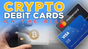 mastercard visa crypto debit cards on