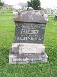 Sarah Sophia Parks Carl (1837-1925) - Find A Grave Memorial