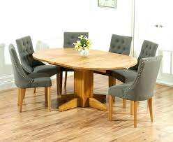 round oak dining table and chairs round oak dining table extending dining table and 6 chairs
