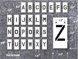 Stencil Letters Letter Stencil Alphabet Stencils Large Letter Stencils Letter