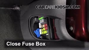 interior fuse box location 2006 2016 chevrolet impala 2013  at 2017 Camaro Fuse Box Inside The Car Location