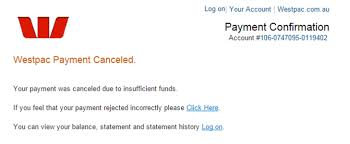 Your Payment Was Cancelled Insufficient Funds Mailshark