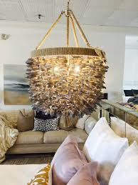 ro sham beaux malibu quartz chandelier