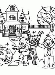 Kids Printable Halloween Coloring Pages Fun For Christmas Halloween