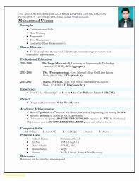 New Resume Format Doc Lcysne Com