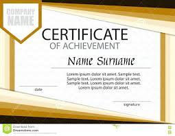 Sample Certificate Of Achievement Amazing Certificate Achievement Template Pictures Documentation 10