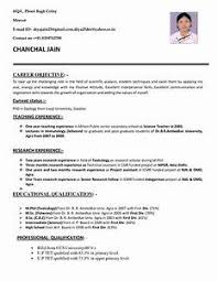 Gallery Of How To Create A Resume Template