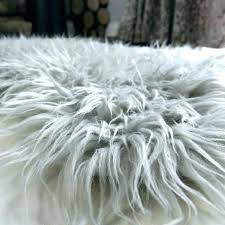 faux mongolian fur rug faux fur rug lambskin rugs sheepskin genuine wool pelt light g