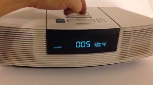 BOSE WAVE RADIO CD PLAYER STEREO - YouTube