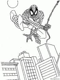 Kids N Fun 27 Kleurplaten Van Spiderman Spiderman Kleurplaat