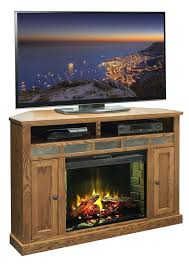 corner electric fireplace tv stand oak furniture remarkable corner stands with