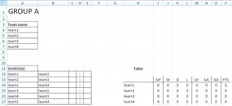 Bowling League Schedule Template 10 Team Preinsta Co